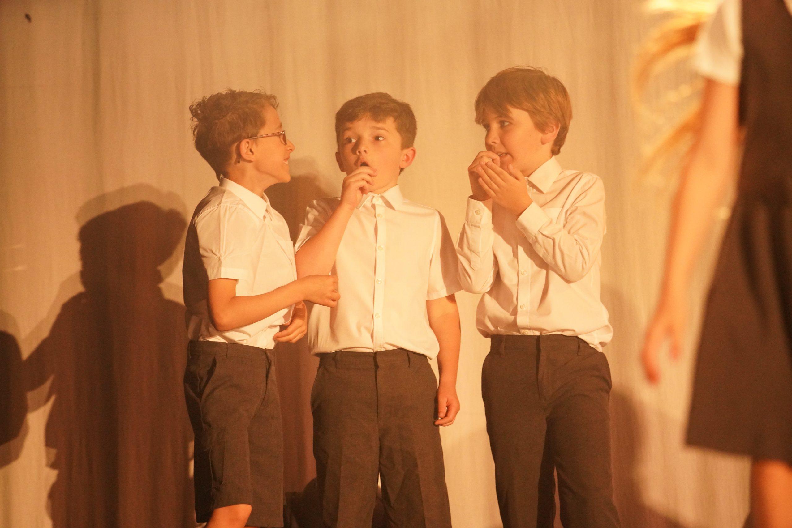 Drama classes boys